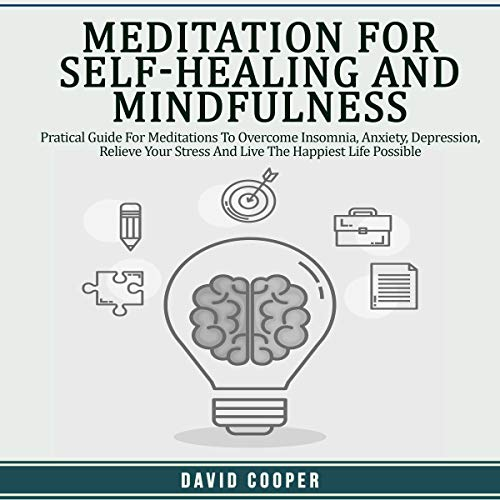 Couverture de Meditation for Self-Healing and Mindfulness