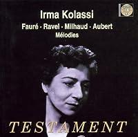 Melodies: Irma Kolassi
