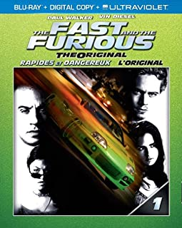 The Fast and the Furious: The Original [Blu-ray + Digital Copy + UltraViolet] (Bilingual) (B00BFWK99O) | Amazon price tracker / tracking, Amazon price history charts, Amazon price watches, Amazon price drop alerts