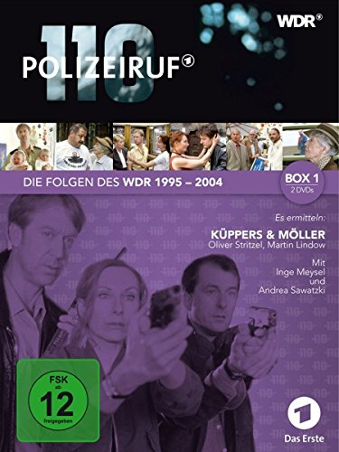 Polizeiruf 110 - WDR-Box 1 [2 DVDs]