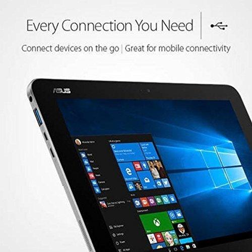 2017 ASUS Transformer Mini 10.1 Inch 2 in 1 Touchscreen Laptop, Intel Quad-Core x5-Z8350, 4GB RAM, 128GB EMMC, WiFi 802.11 AC, Bluetooth V4.1, USB 3.0, HDMI, windows 10 (Certified Refurbished)