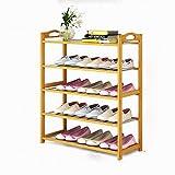 JIEZ Zapatero Estante para Zapatos de 5 Niveles / 10 Niveles Organizador de Almacenamiento Estante para Zapatos de Entrada Estante para el hogar Gabinete de Almacenamiento para Zapatos Libros y m