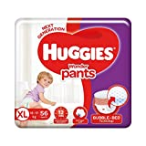 Huggies Wonder Pants, Extra Large (XL) Size Diapers, 56 Count