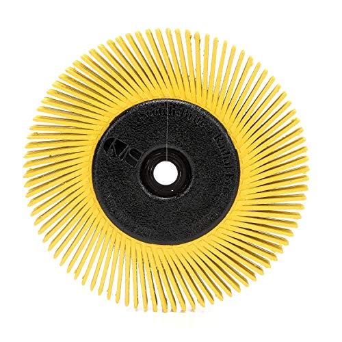 Scotch-Brite(TM) Bürste mit Radialborsten, Cubitron/Aluminiumoxid, 6000 U/min, 6 Durchmesser x 1/2 Breite, 80er Körnung (1 Stück)