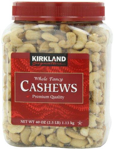 Signature's Cashews, 40 Ounce