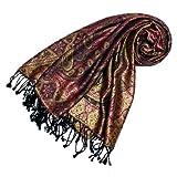 LORENZO CANA - Luxus Damen Pashmina Schal Schaltuch aus Seide