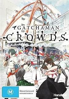 Gatchaman Crowds Insight | 3 Discs | Anime & Manga | NON-USA Format | PAL | Region 4 Import - Australia