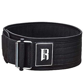 RIMSports Self Lock Weight Lifting Belt - Weightlifting Belt - Strength Training Belt - Power Lifting Belts - Fitness Belt - Waist Belt Gym - Deadlift Belts - Squatting Belt - Weighted Belt