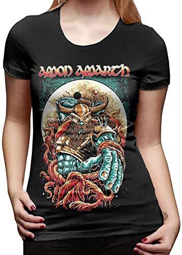 Camisetas y Tops Polos y Camisas, Camiseta Camiseta de algodón para Mujer Camisetas de Manga Corta con Cuello en O de Moda