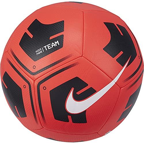 Nike Park-Team, Calcio Palla Unisex Adulto, Crimson/Nero/Bianco, 4