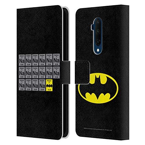 Head Case Designs sous Licence Officielle Batman DC Comics Na Na Na Na Logos Coque en Cuir à Portefeuille Compatible avec OnePlus 7T Pro