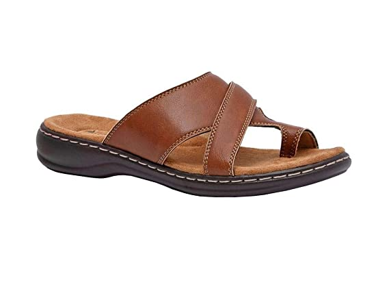 Cushionaire Womens Blare Comfort Footbed Sandal with Comfort