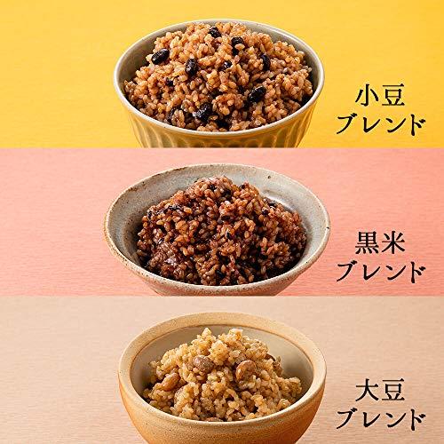 結わえる『寝かせ玄米6種ミックス24食セット』