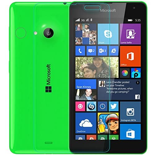 Kepuch INCREDIBILE 9H Straight Edge Screen Protector Glass Tempered Glass Screen Protector Protezione Della Vista For Nokia Lumia 535 - H