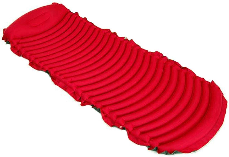 XULO Reise Aufblasbare Faltbare Matratze Universal Rückenkissen Schlaf Pause Spiel Sport Multifunktionale Tragbare Kind Erwachsene Bett,rot-SendWaterproofBag B07Q6NKJ5L  Geschäft