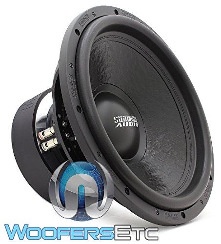 Sundown Audio U-15 D4 15  1500W RMS Dual 4-Ohm U-Series Subwoofer