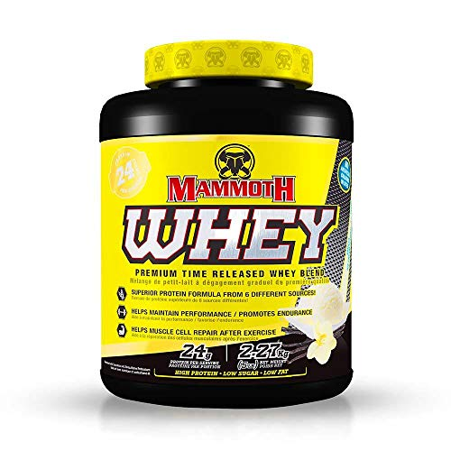 Interactive Nutrition Mammoth Whey Vanilla 5lb, 2.27 kg