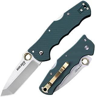 Cold Steel 62QFGS Golden Eye Spear Folder Blade, Forest Green, 3-1/2