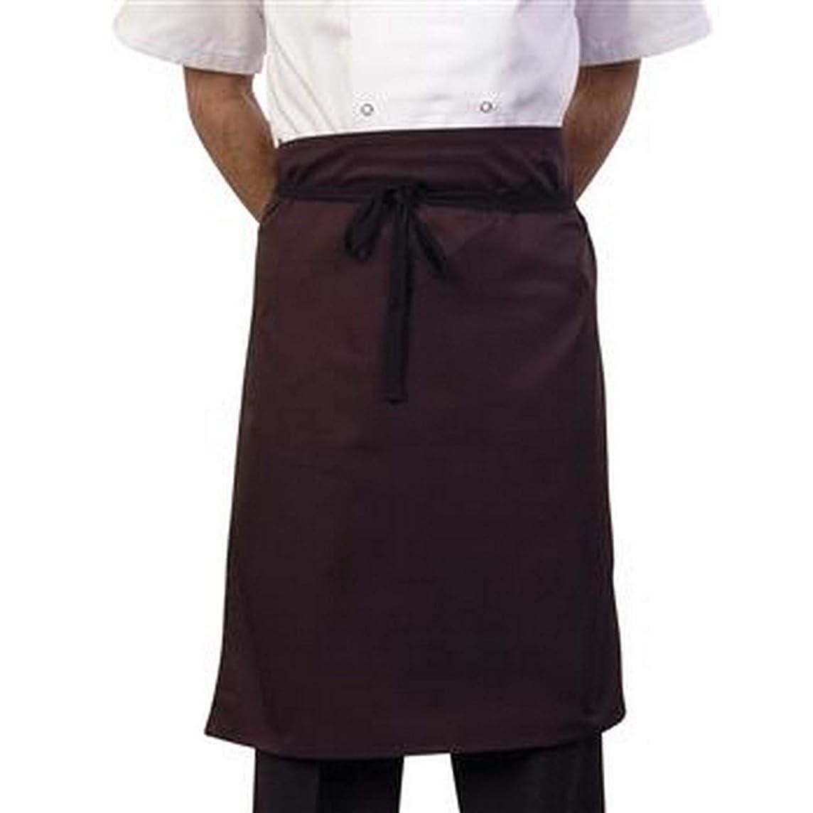 配管工公使館襟(ボンシェフ) BonChef 大人用 24インチ ウエストエプロン 制服 ユニフォーム