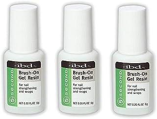 IBD Ibd 5 Second Brush-on Gel Resin - Net Wt. 0.20 oz (Pack of 3)