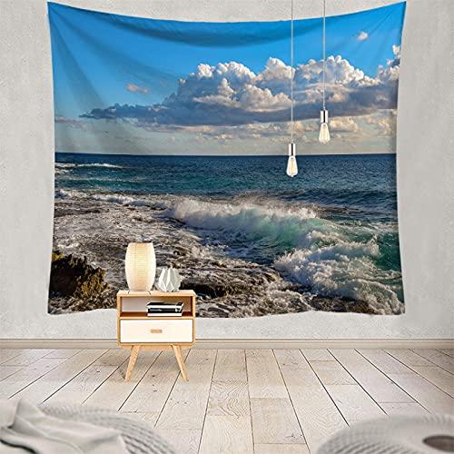 DSman Patrón Tapiz de Pared Tapices Colgante de Pared Decoraciones para el hogar para Sala de Estar Toalla de Playa de Pared Serie Impresa
