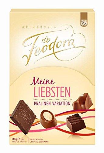 Feodora Meine Liebsten Pralinen Variation, 2er Pack (2 x 140 g)