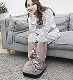 TYZXR Calzado eléctrico con Tubo Alto Zapatos de pies Calientes Pies y piernas Calientes en Invierno, 002