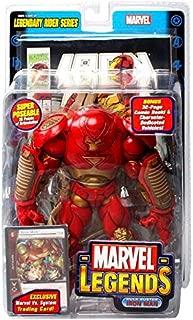 Marvel Legends Legendary Riders Figure: Iron Man Hulk Buster