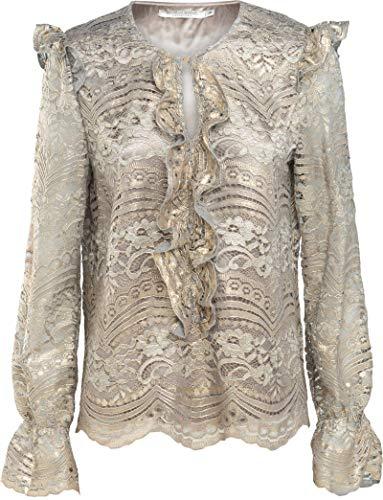 Summum Woman Bluse im Barock Style mit Spitze (40)