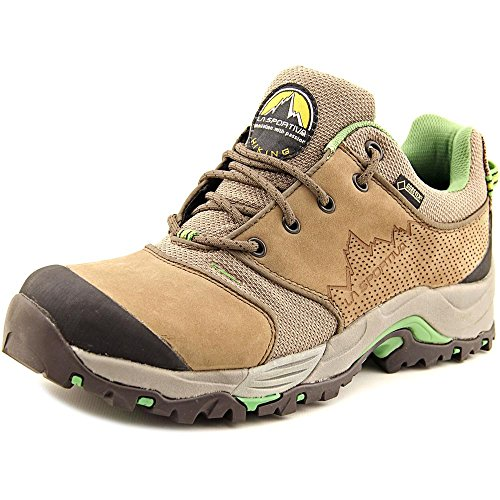 La Sportiva Men's FC Eco 2.0 GTX Brown/Green Boot 45 (US Men's 11.5) D - Medium
