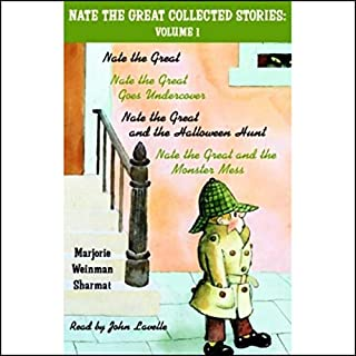 Nate the Great Collected Stories audiobook cover art
