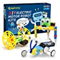 Giggleway Electric Motor Robotic Science Kits, DIY STEM Toys for kids, Building Science Experiment Kits for Boys and Girls-Doodling, Balance Car, Reptile Robot (3 kits) by Giggleway