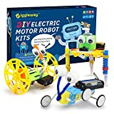 Giggleway Electric Motor Robotic Science Kits, DIY STEM Toys for Kids, Building Science Experiment Kits for...