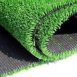 Verakee Natural sintético Césped Artificial Mat, TPermeable...