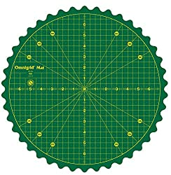 top 10 rotating cutting mat Omnigrid Rotating Carpet Cutters and Accessories, Green