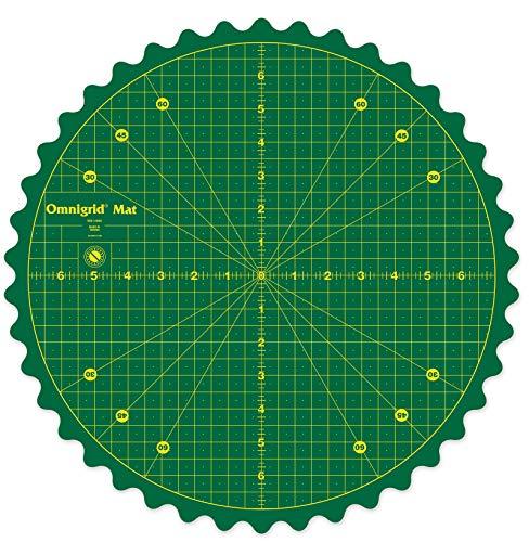 Omnigrid Rotating Mat Cutters amp Accessories 14quot Green