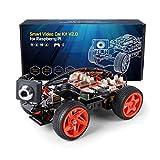 SunFounder Raspberry Pi スマートロボットカー,カメラ付き ロボットカー キット,プログラミング 電子工作 全年齢対象ロボット