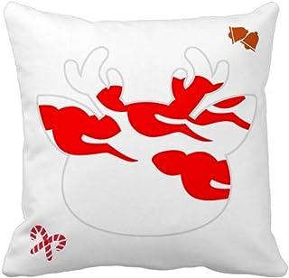 OFFbb-USA - Funda cuadrada para almohada con símbolo de la esperanza nacional