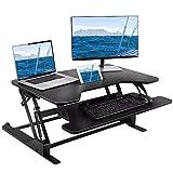 Sofá Cama de Escritorio Portátil Plegable Notebook tabla plegable del ordenador portátil de la talla de pie ajustable de escritorio sentado o en pie de doble uso del ordenador con la bandeja del tecla