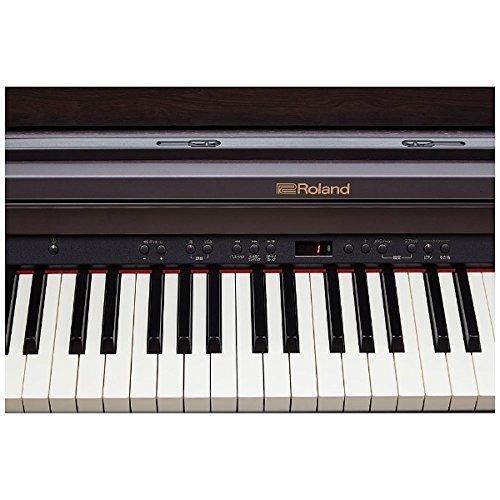 ローランド電子ピアノ(クラシックローズウッド調仕上げ)【高低自在椅子&ヘッドホン&楽譜集付き】RolandPianoDigitalRP501R-CRS