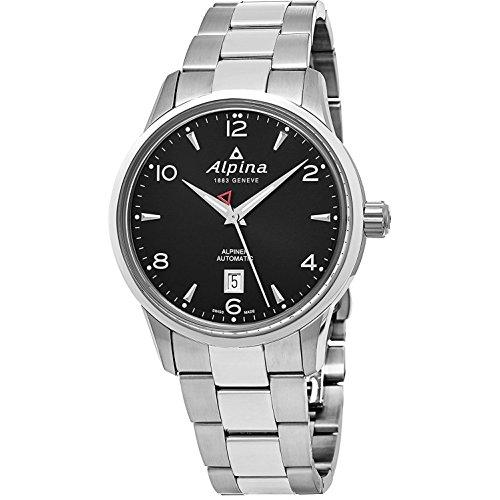 Alpina al525b4e6b al-525b4e6b – Armbanduhr, Edelstahl-Armband, Silber