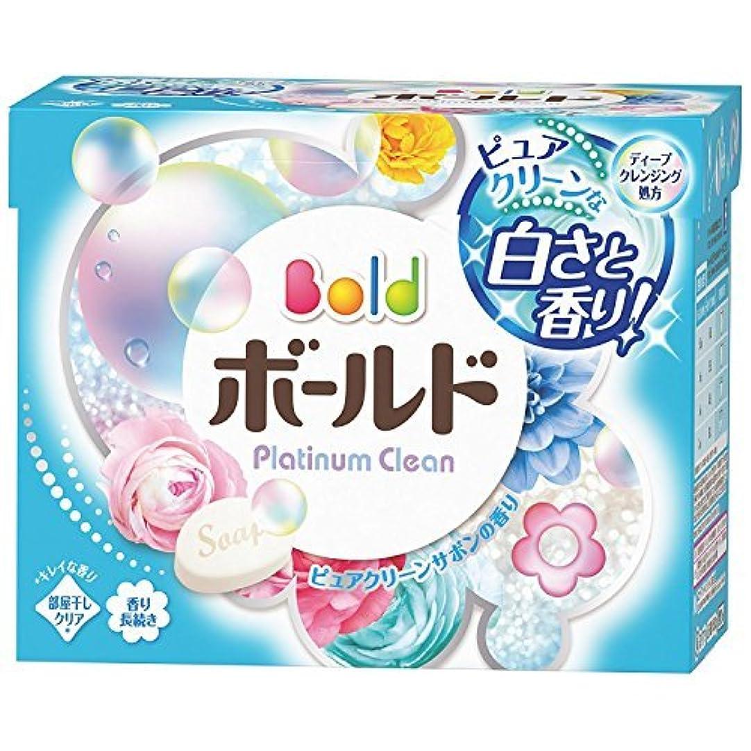 上へ一回好ましい【P&G】ボールド プラチナクリーン 香りのサプリイン 粉末 850g ×5個セット