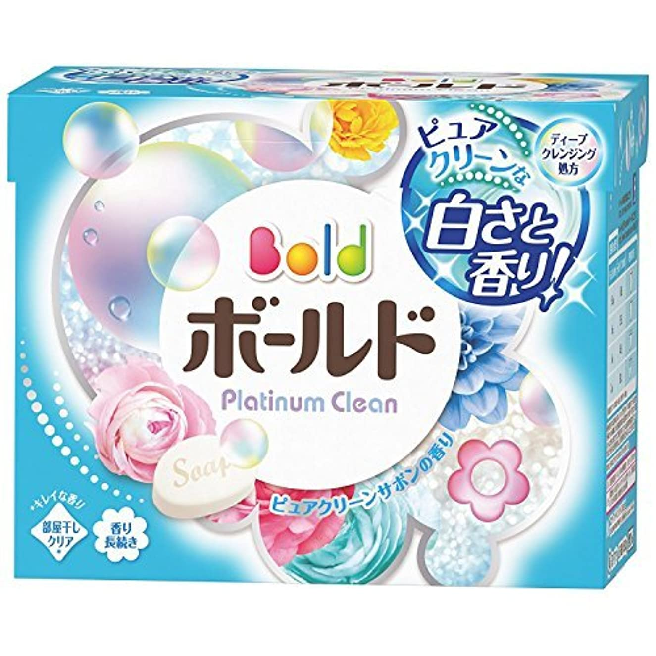 疑い者爵クーポン【P&G】ボールド プラチナクリーン 香りのサプリイン 粉末 850g ×5個セット