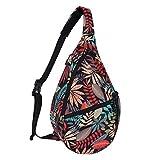 Unisex Sling Bag Multipurpose Crossbody Shoulder Bag Travel Chest Pack for Men Women Lightweight Casual Daypacks