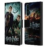 Head Case Designs Officiel Harry Potter Fred & George Weasley Deathly Hallows VIII Coque en Cuir à...