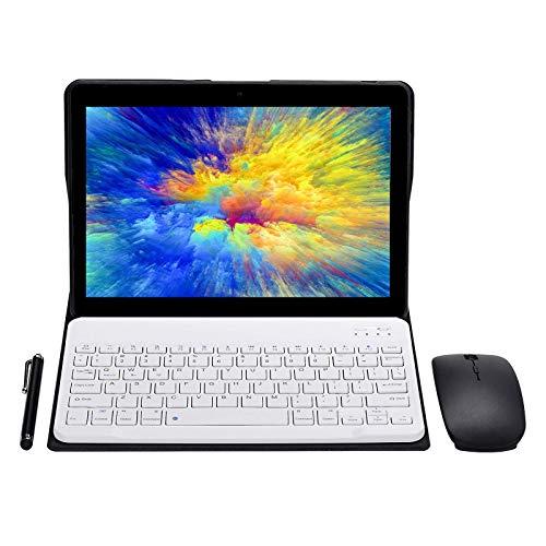 """Tablet Android Schermo da 10"""" Quad core RAM 4 GB ROM 64 GB Fotocamera WIFI GPS Due slot per schede SIM Tablet Cellulare con 3G sbloccato (nero)"""