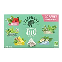 Elephant Bio Infusion Coffret decouverte 5X8 = 40 Sachets - Lot de 2