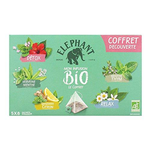 Elephant Bio Infusion Coffret Edition Limitée 40 Sachets