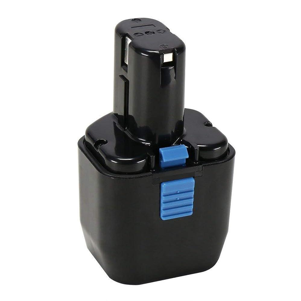 【 POWERAXIS 】Hitachi日立 12V 3000mAh ニッケル水素電池 EB12互換バッテリー 電動工具用 EB12 EB1224 EB12B EB12G EB12M EB12S FEB12 など対応 高品質 長寿命 安全 安心 1年保証