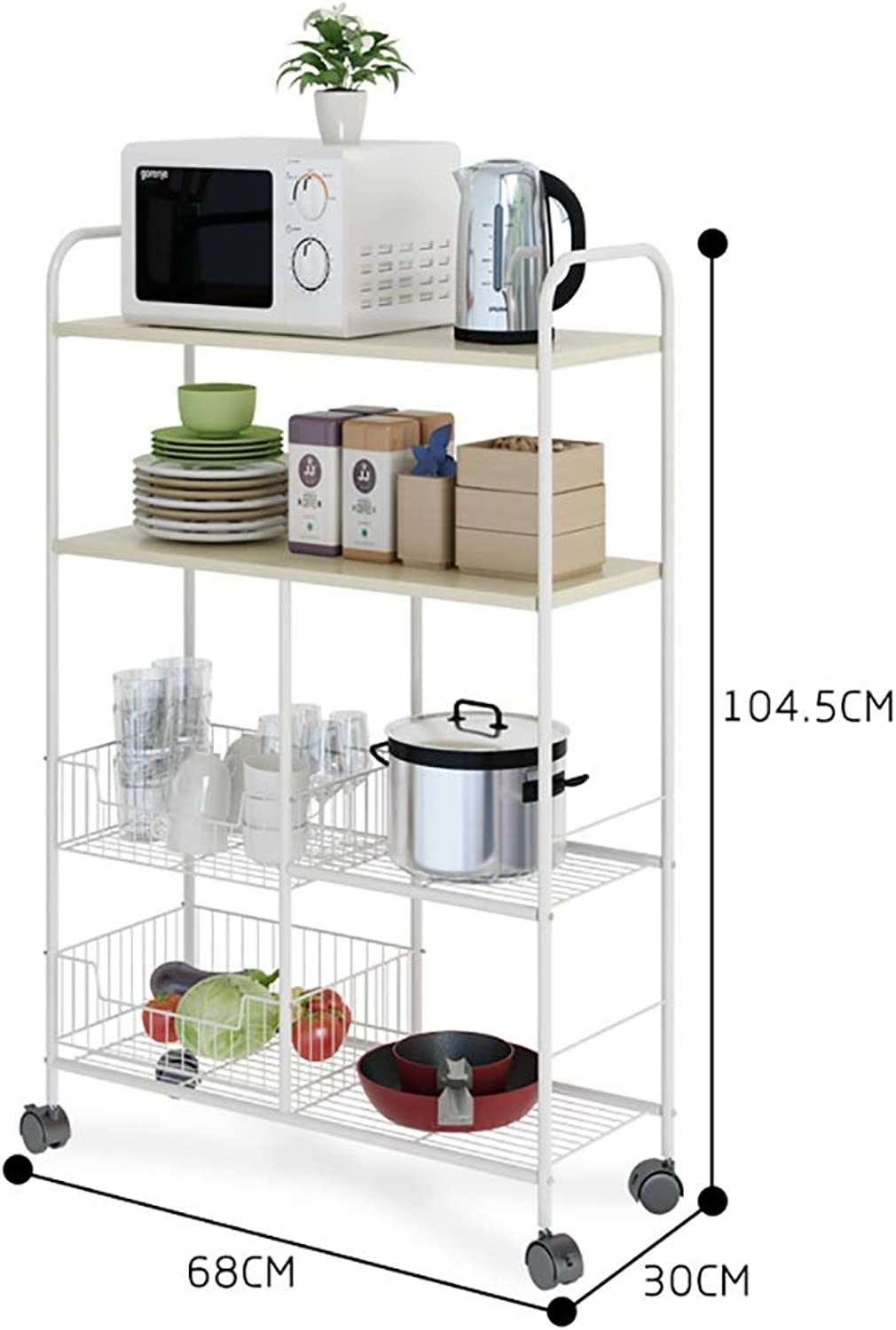 Shelf Kitchen Narrow Removable Storage Rack Bathroom Toilet Corner (color   B)